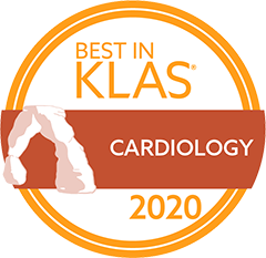 klas 2020 best in cardiology logo